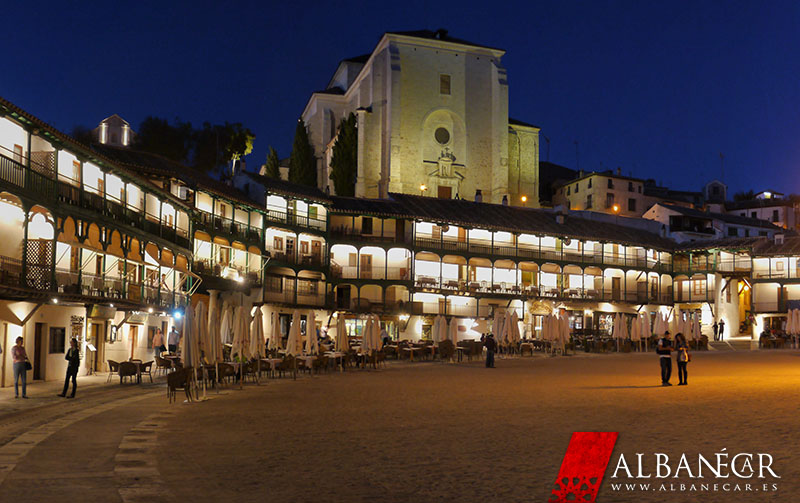 Plaza Mayor de Chinchón. © Albanécar